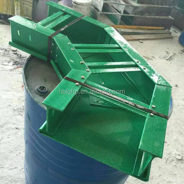 Fire resistance plastic FRP GRP cable tray manufacturers