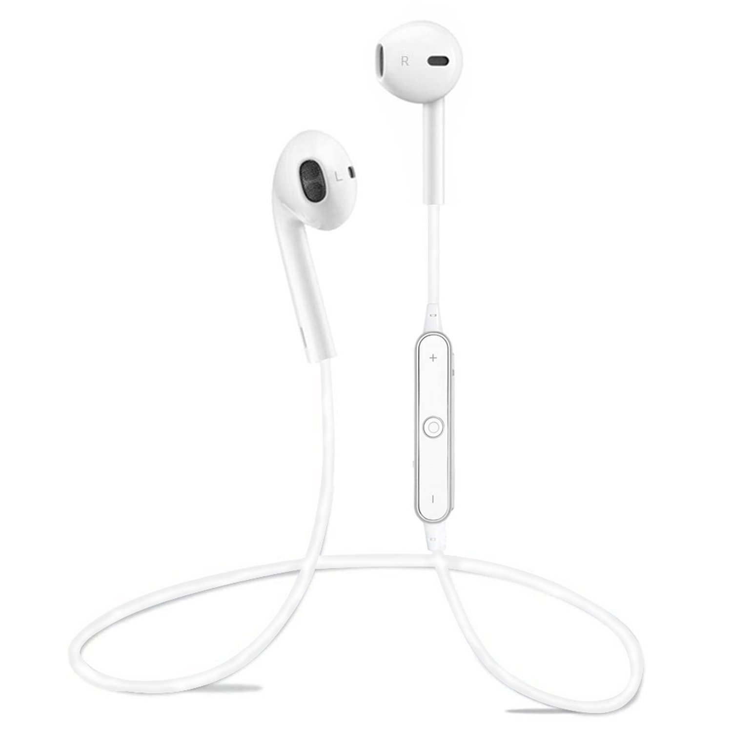 452ddb9aac0 Get Quotations · BROOKE Upgraded S6 Bluetooth Headphones,Wireless Headphones  Bluetooth 4.1 Earbuds with Mic Sport Stereo Headset