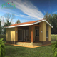 Flat pack Farm tiny modular house for sale