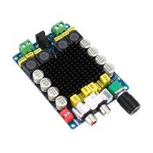 TDA7498 Class D 2X100W Dual Channel Audio Stereo 80W + 80W Digital Amplifier Board Module Free Shipping