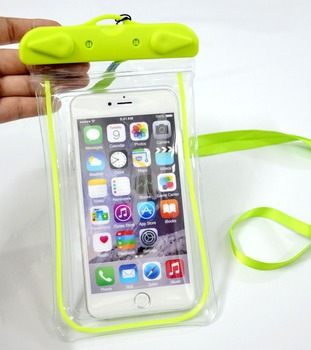 New Arrival Shining Waterproof Floating Diving Cellphone Bag For iPhone 6 Plus
