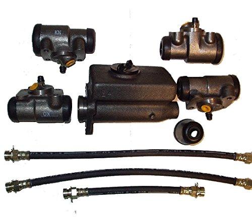1939-1948 Early Ford V-8 Sales 91A-2140-KIT Master Cylinder & Wheel Cylinder Kit