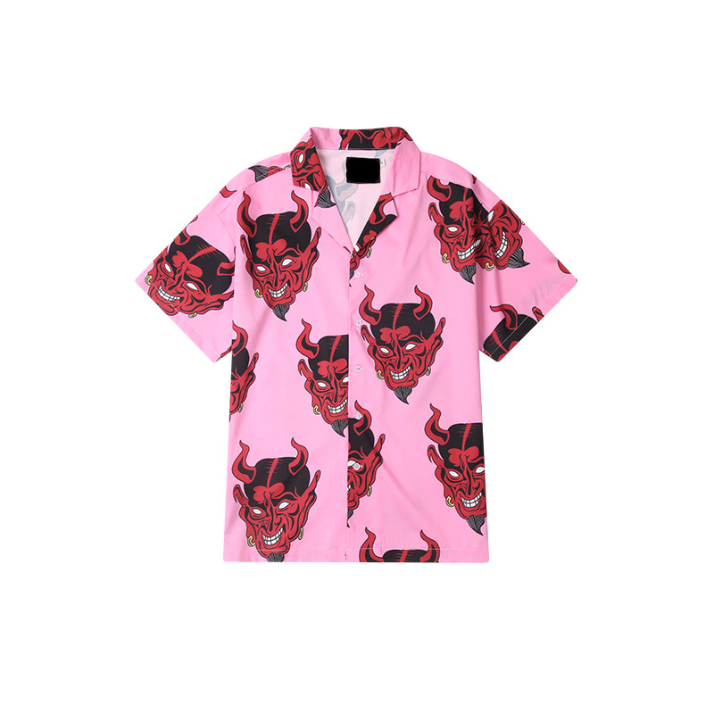 oem new design mens hawaiian beach shirts