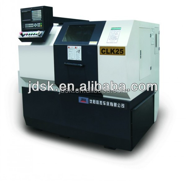 cnc turning machine made in China, universal lathe, hydraulic auto chuck