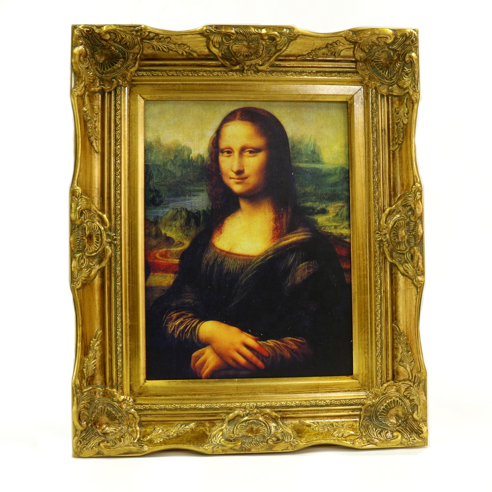 China Supplier Wood Wall Art Custom Mona Lisa Famous Painting <strong>Pictures</strong> Printed on Wood