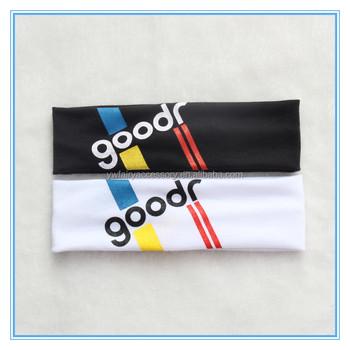 Promotional Cheap Custom Logo Spa Headband Polyester Spandex Yoga Headband 785ee3eb3a7
