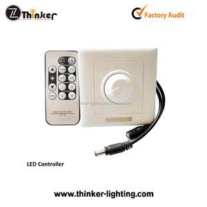 Thinker Rotary Knob Low Voltage 4A DC12V-48V Remote Control Intelligent  Dimmer LED