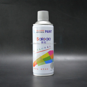 High temp heat resistant colorful aerosol spray paint automotive metallic paint colors