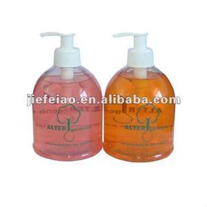 best selling OEM / ODM China with alcohol liquid hand wash liquid soap with high quality with private label bottle