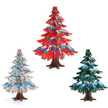 FQ brand wholesale wooden yiwu table tree christmas decoration