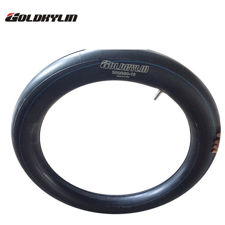 China High Quality Naturall Rubber Motorcycle Inner Tubes 3.00-17 2.75-17