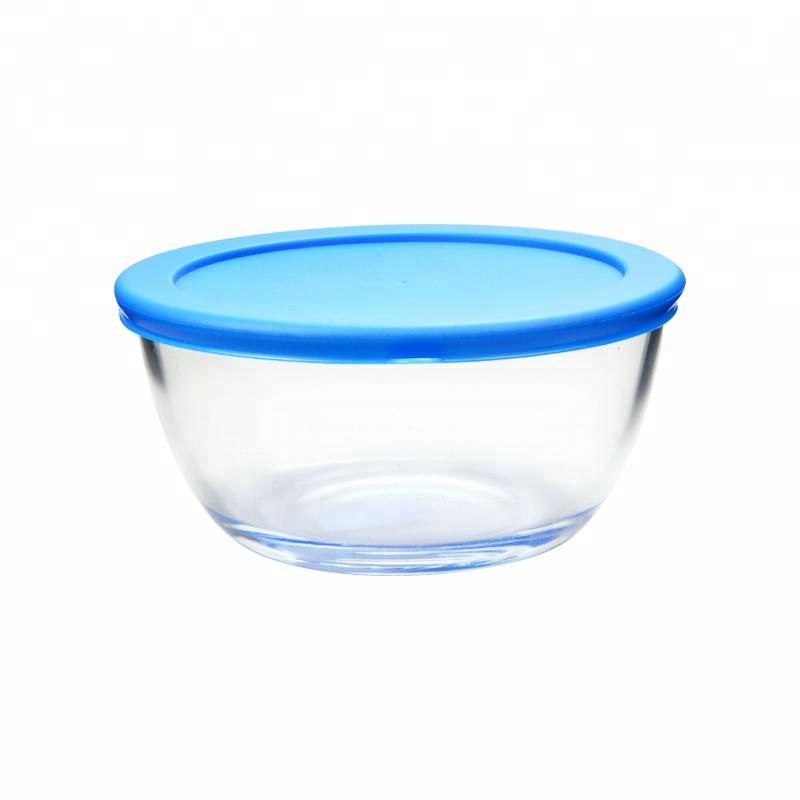 стеклянная миска с крышкой купить
