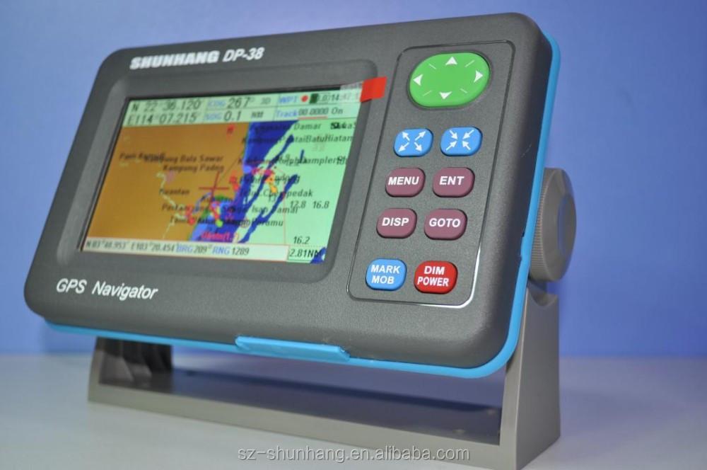 marine chartplotter navigation built-in GPS antenna 5 inch waterproof  navigator portable marine gps DP-38, View marine chartplotter, Shunhang  Product