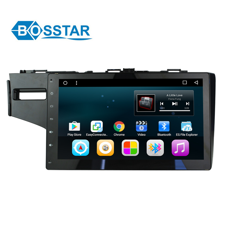"10.2"" Android Multi-Point Touch Car stereo Screen Player GPS NAVI Google Play Car Media For FIT 2014"