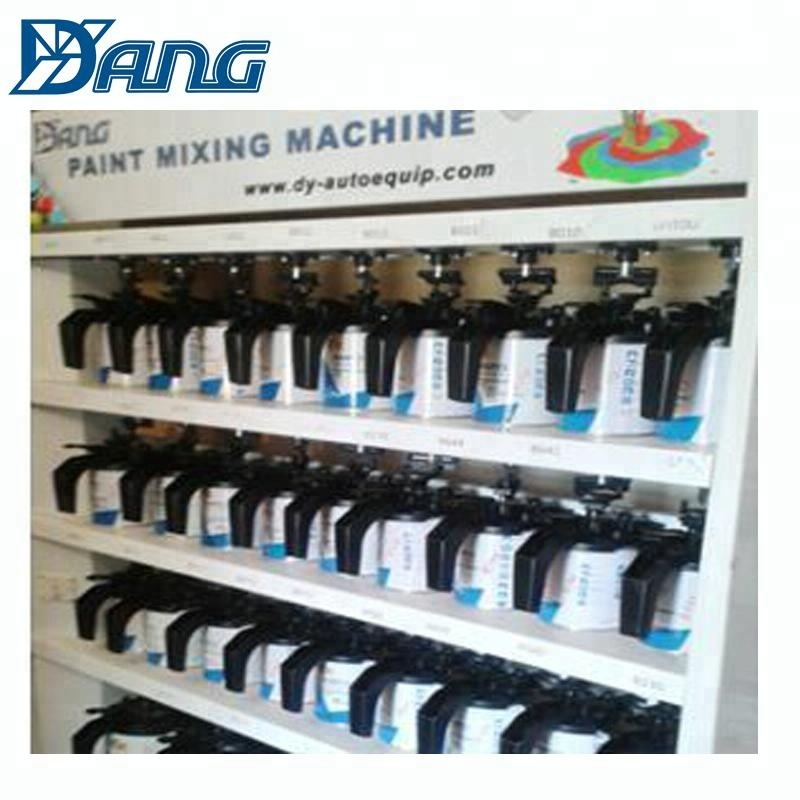 computerized car used paint color mixing machine price with ce