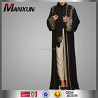 Wholesale Dubai Abaya Islamic Clothing Muslim Women Long Dress Black Cardigan Abaya