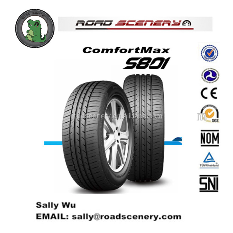 Chinese cheap High quality car tyres 15'' with E4/GCC