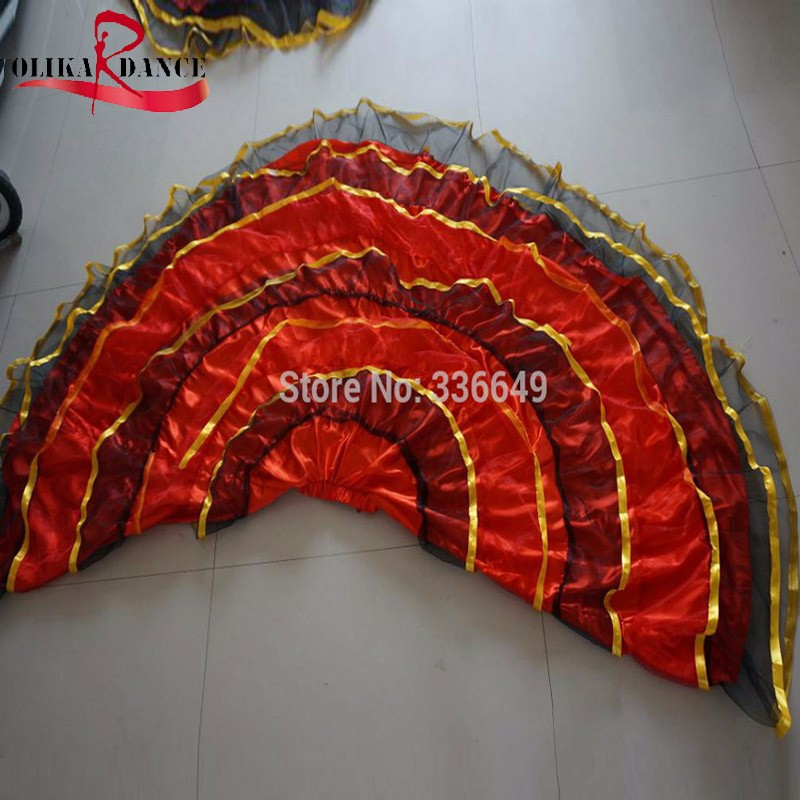b6c74fee7 flamenco skirt Ladies Spanish Flamenco Fancy Dress Dance Skirt ...