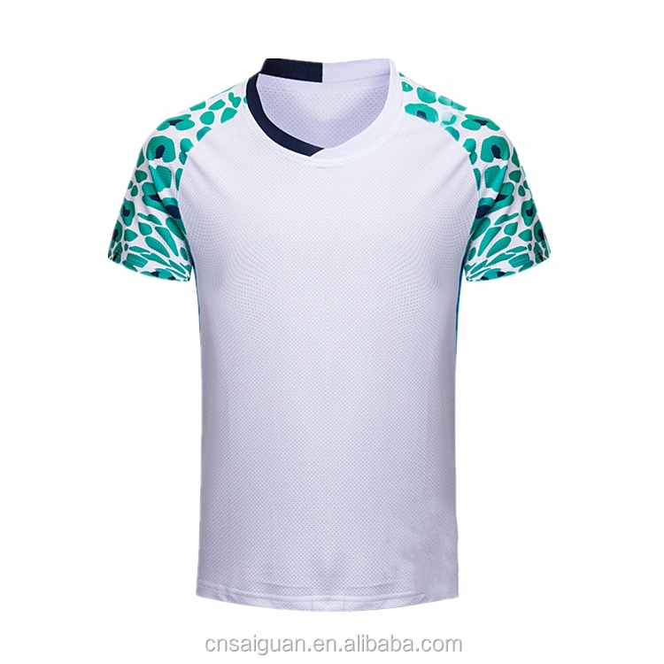 Latest fashion blank badminton shirt design your own logo for Design and buy your own shirt