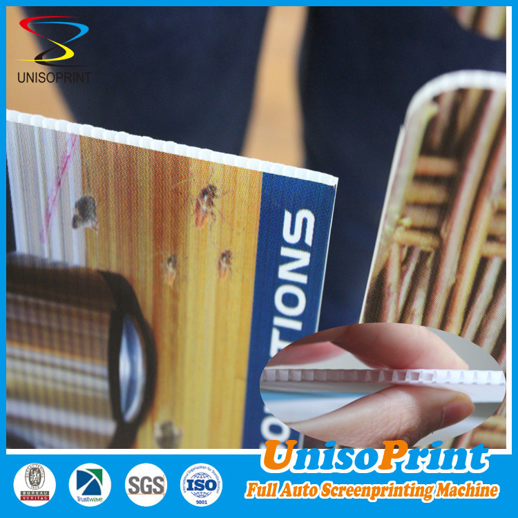 Printed Plastic Corrugated Shee