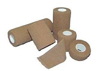"Self Adhesive Elastic Bandages - Sterile, Latex-Free - 6"" x 5 Yard - 12 Each / Case"