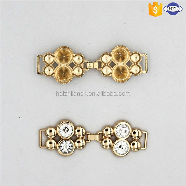 Newest sale special design decorative rhinestone buckles 2016