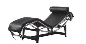 Le corbusier chaise lounge sedia con basein metallo e pelle buy le