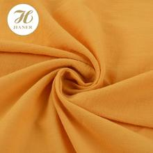 High quality elegant crepe 100 cotton fabric wholesale for garment