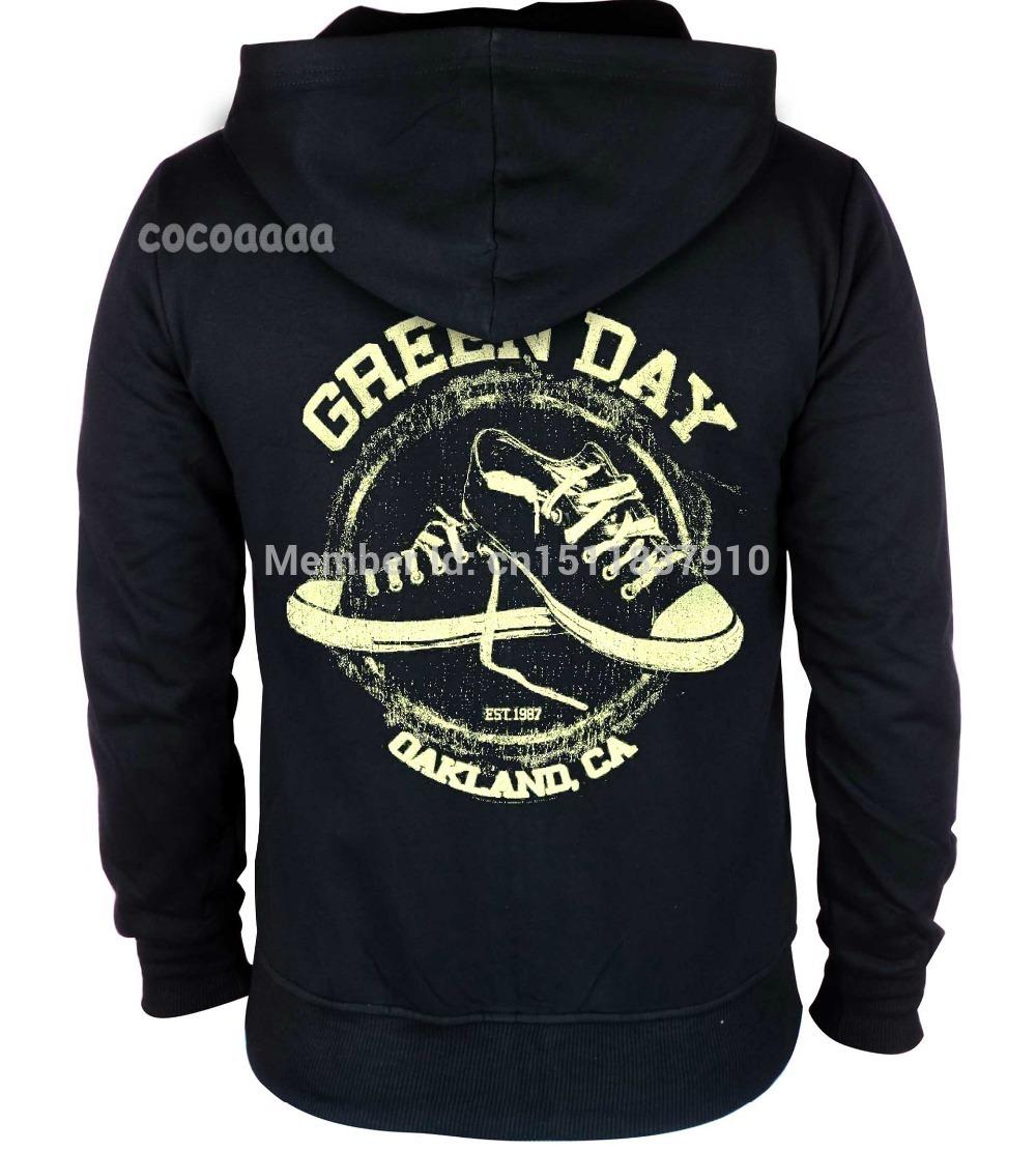 Green day hoodies