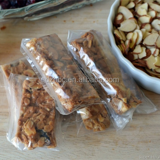 Flexible Food Safe Granola Bar Packaging Cereal Bar Packaging ...