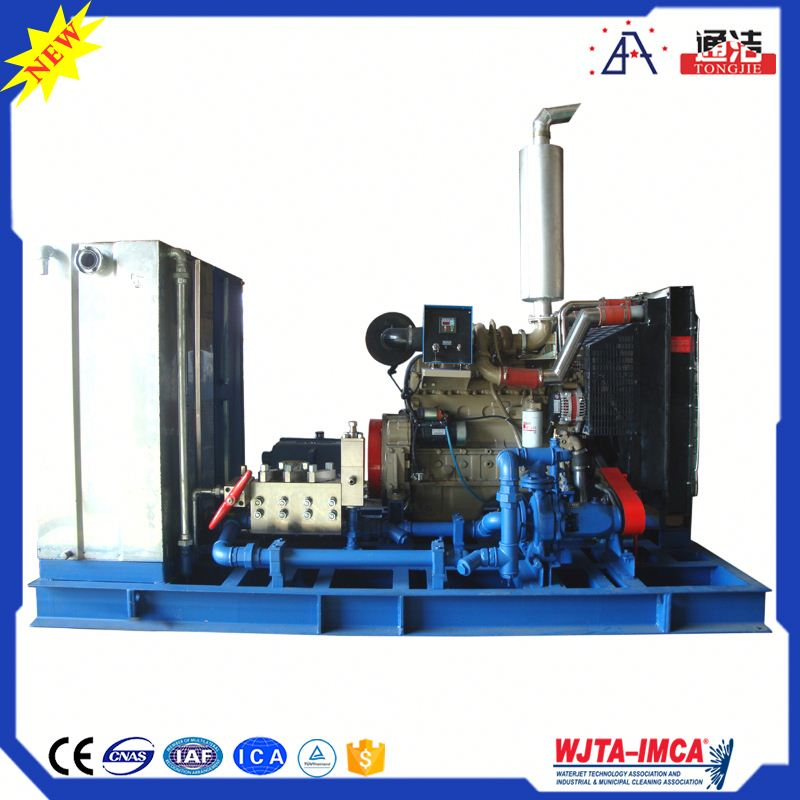 Trade Assurance High Quality Cleaning Rust Removal Equipment Eletric High Pressure Plunger Pump