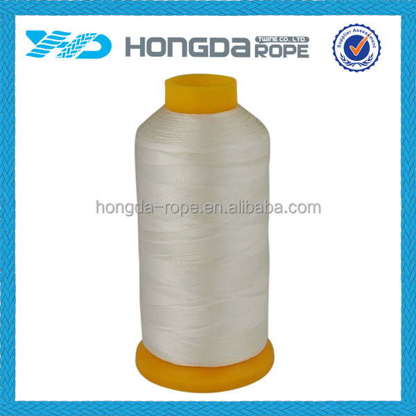 high quality and tenacity 100% nylon sewing thread 20/2 for gurment