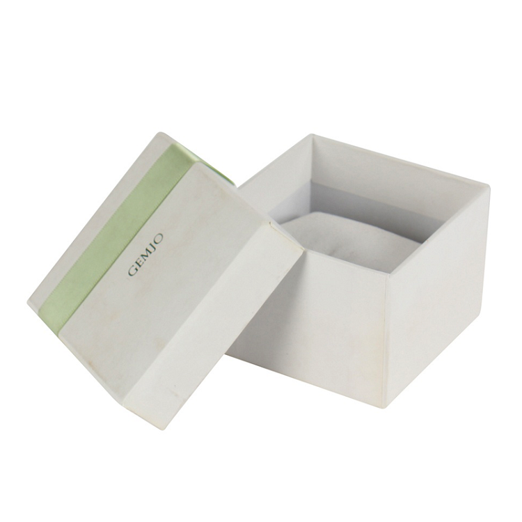 Custom Logo High Quality Two Pieces Jewelry Earring Bracelet Box with Pillow
