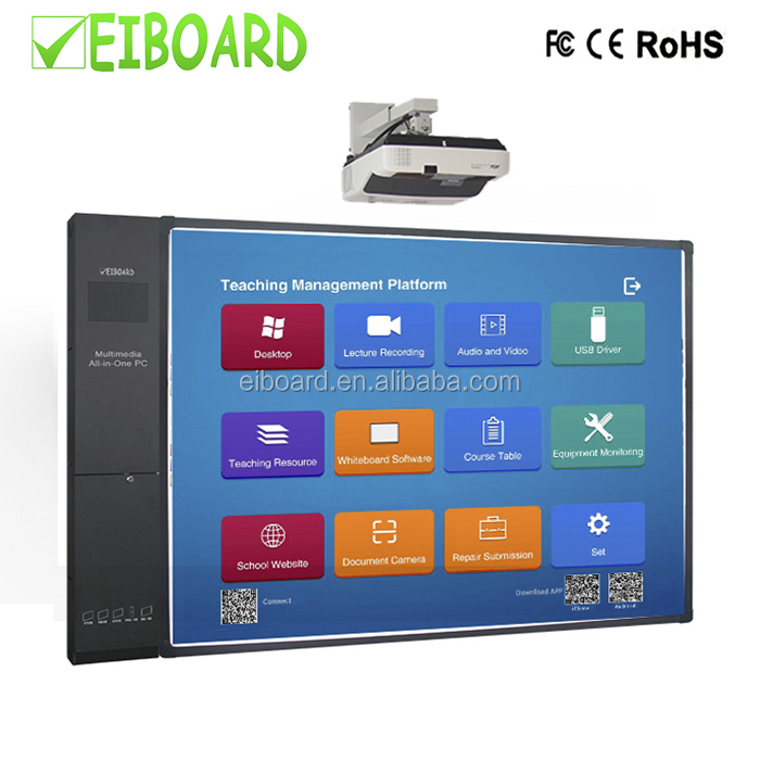 Educativi All-in-one Touch Screen Intelligente Lavagna Interattiva