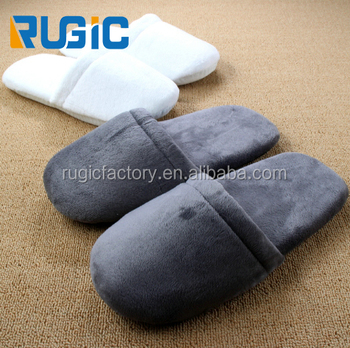 2018 High Quality Cotton Material Super Soft Hotel Slipper