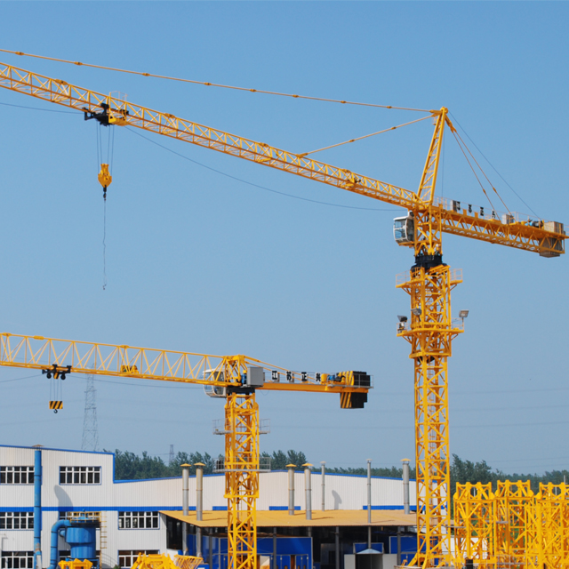 XL4015L-2.9  operating weight 2.9t small tower crane with good price
