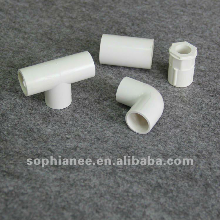 Plastic Electrical Pipe Connectors For Pvc Wire Pipes Buy Electrical Pipe Connectors Plastic Pipe Connectors 90 Degree Pipe Connector Product On Alibaba Com