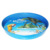 Restaurant quality Non-Slip metal round shape Food Serving Tray