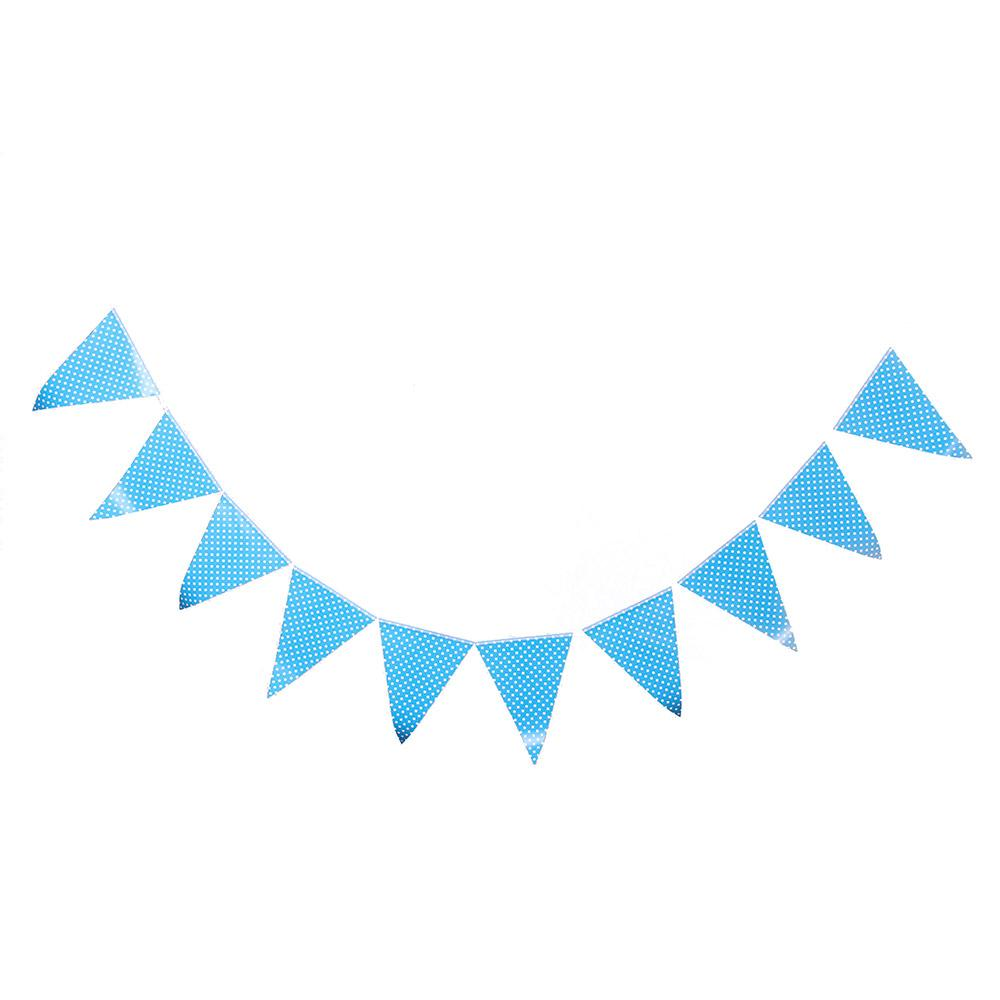 2019 Wholesale Bunting Flags Banner Happy Birthday Party