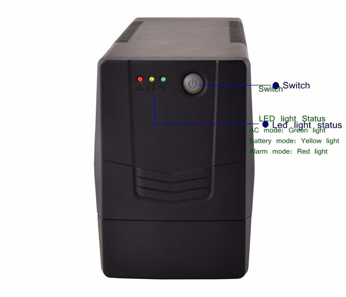 Mini UPS Uninterruptible Power Supply Battery 15-20 mins Backup