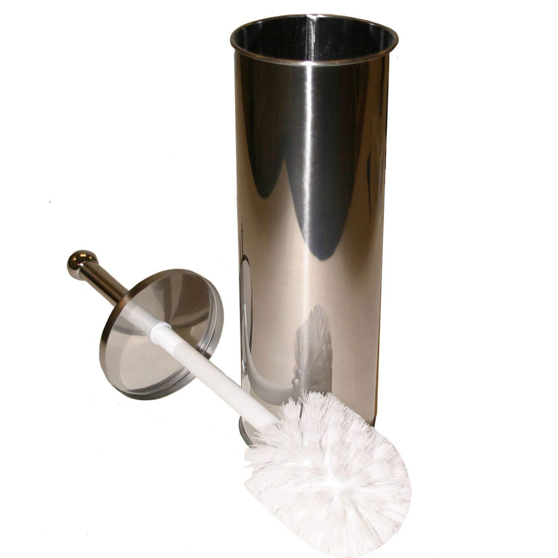 Taymor Stainless Steel Toilet Bowl Brush Set Polished ChromeStandard