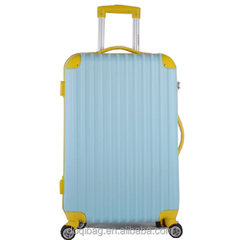 OEM universal wheels easy push travel trends luggage