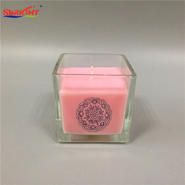 Crystal Journey Colored 12oz glass jars Candles