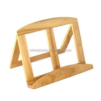 Superbe Promotional Wooden Table Design Book Reading Stand Chair In Bed