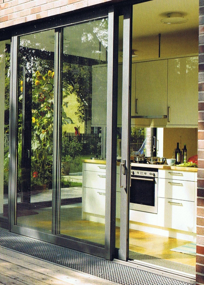 Australia Usa Exterior Aluminum Lowes Sliding Glass Patio Doors Factory Whole