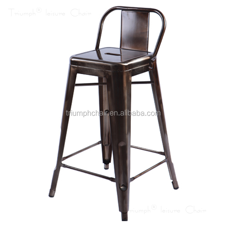 Triumph de haute qualit m tal ext rieur tabourets de bar antique m tal indu - Chaise de bar industriel ...