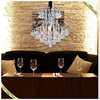 2016 Personality Modern Style Round Romantic Warmth Luxury Chandelier Crystal For Bedroom, Project Lamp