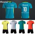 Custom Blank Soccer Jerseys 2016 2017 New Season Men Survetement Football Shirt Sets Team Sports High