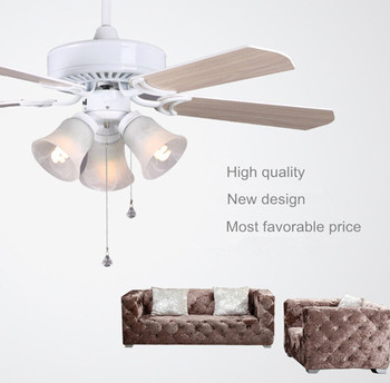 High quality multi function 42 60w two colors blades electric high quality multi function 42quot 60w two colors blades electric ceiling fan with e27 aloadofball Images