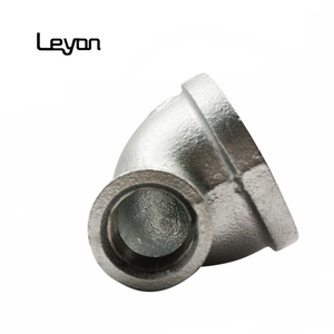 Fire Fighting Pipe Fitting banded Elbow galvanized 90R Reducing elbow